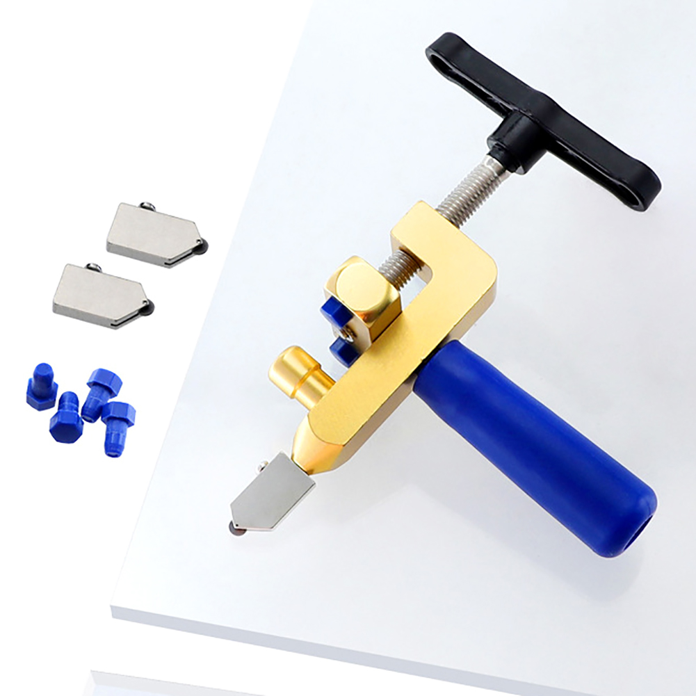 2 IN 1 Professional Ceramic Tile Glass Cutting Machine Set Glass Tile Cutting Tool Hand Tool Glass Cutting Machine 3-15mm