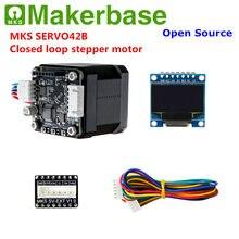 MKS Makerbase SERVO42B 3D impressora circuito fechado servo motor de passo do motor de passo controlador do motor para Nema 17 SMT32 close-loop