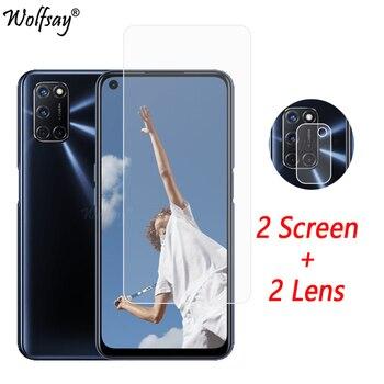 Перейти на Алиэкспресс и купить Защитное стекло для объектива камеры OPPO A92, закаленное стекло для OPPO A92 A72 A52, стекло для камеры OPPO A92 6,5 дюйма