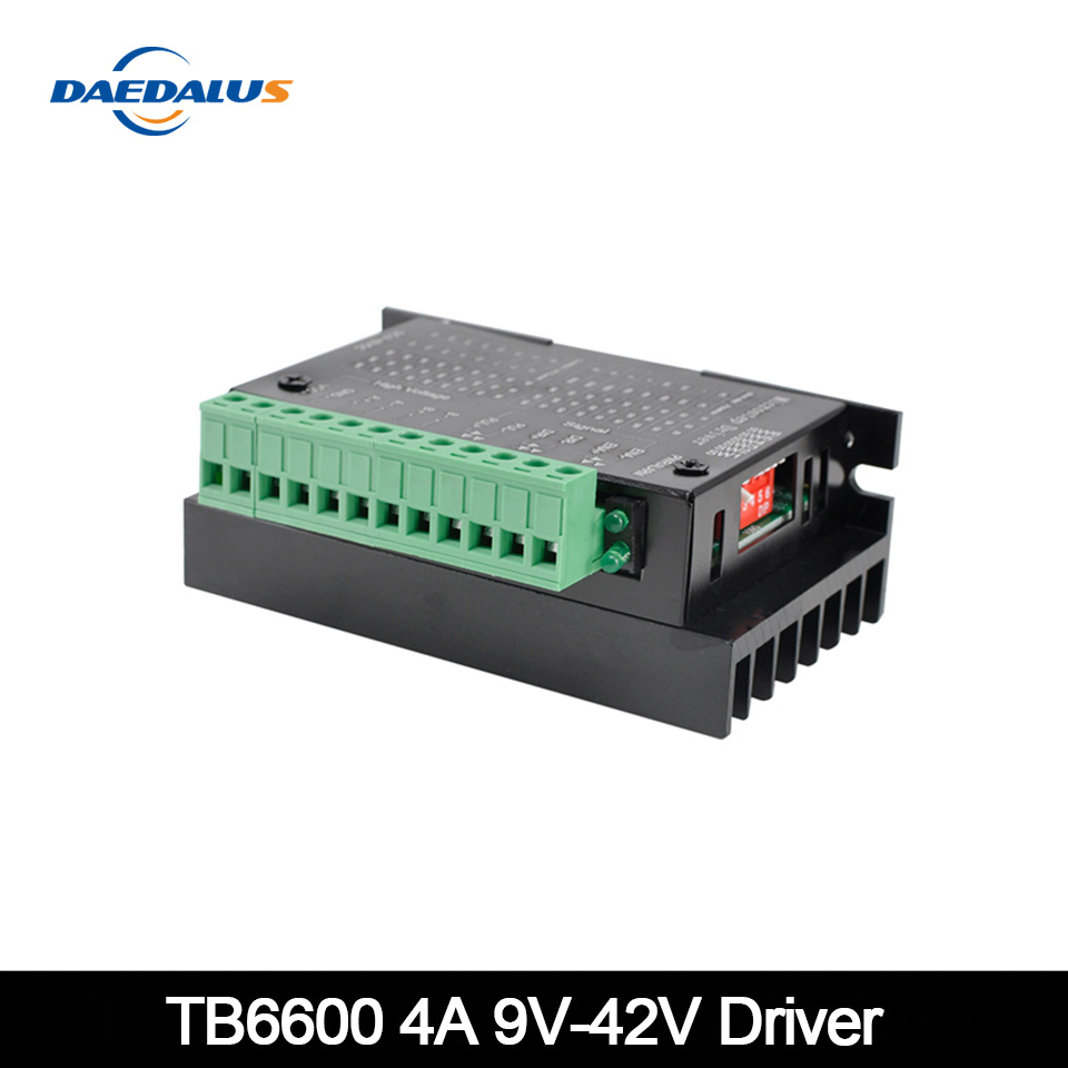 TB6600 Stepper <font><b>Motor</b></font> <font><b>Driver</b></font> Controller 4A 9~42V TTL 16 NEW Upgraded Version Of The 42/57/86 Stepper <font><b>Motor</b></font> Micro-Step CNC 1 Axis image