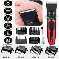 Rechargeable Hair Clipper Barber Trimmer For Men Electric Trimmer Cutter Hair Clipper Cutting Machine Beard Barber Razor Kit