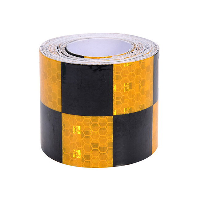 5cm*3M Reflectante Car Reflector Sticker Adhesive Reflective Tape Auto Warning Tape Reflective Film     Car Exterior Accessories