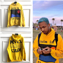 Kanye West CPFM.XYZ Hoodies Men Women Flame Spirit Sweatshirt KID CUDI CPFM Blue Stranger Things 3d
