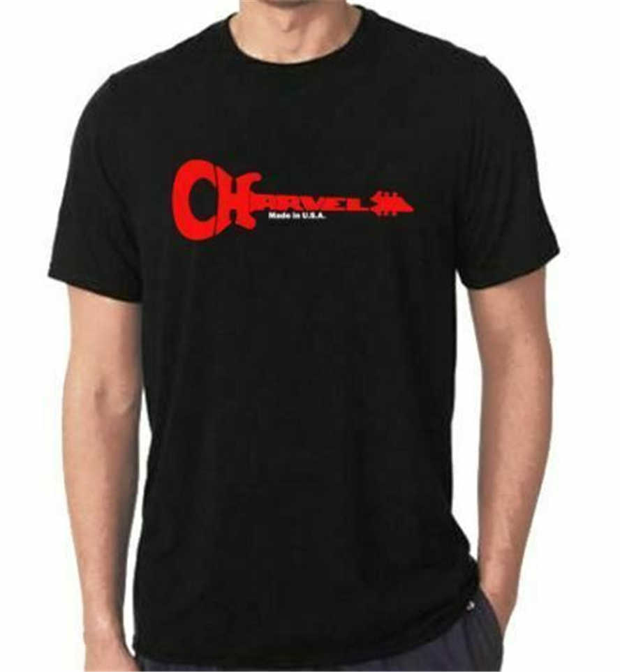 New Charvel Guitar Logo T-Shirt All Size Tee Size Usa S M L Xl 2Xl 3Xl Ha1 Free Shipping Tee Shirt