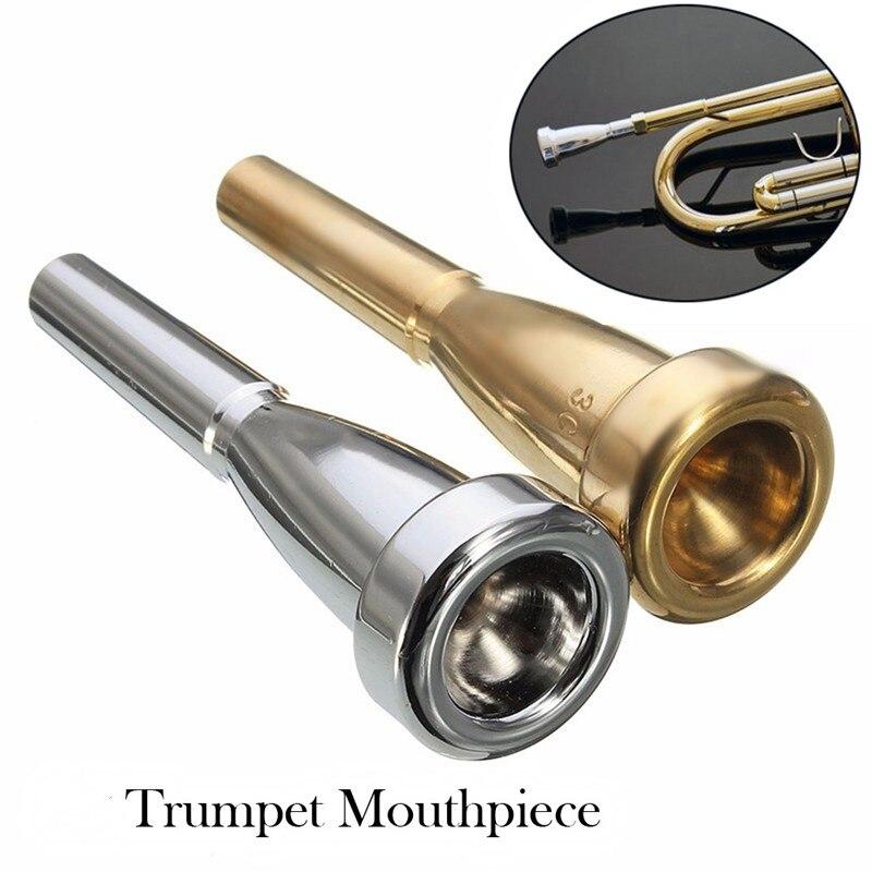Профессиональная труба мундштук Meg 3C/5C/7C размер для Bach начинающих музыкальные трубы аксессуары Запчасти или палец тренажер