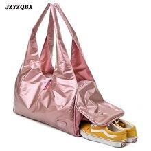 Multi Pocket Shoe Bit Travel Bag Big Bag Multi-layer Luggage Bag Pink Leather Hasp Traveling Bags Women's Bag Large