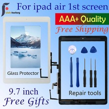 Sensor Glass-Panel A1474 Flex-Adhesive Digitizer Touch-Screen iPad Home-Button for Air-1
