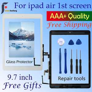 Sensor Glass-Panel A1474 Flex-Adhesive Digitizer Touch-Screen Repair-Tools iPad Home-Button