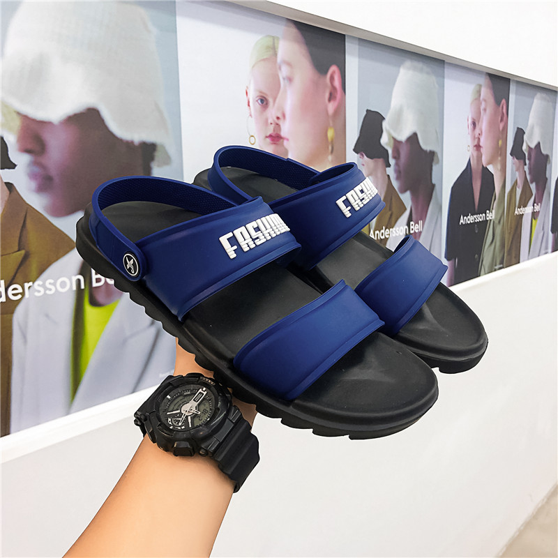 COOLVFATBO Men Slippers Casual Black And White Shoes Non-slip Slides Bathroom Summer Sandals Soft Sole Flip Flops Man Shoes