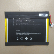 Battery for Onda Xiaoma 11 Tablet PC New Li Polymer Rechargeable Accumulator Replacement 35125160P 7.6V 4500mAh 10 Lines+Plug цена