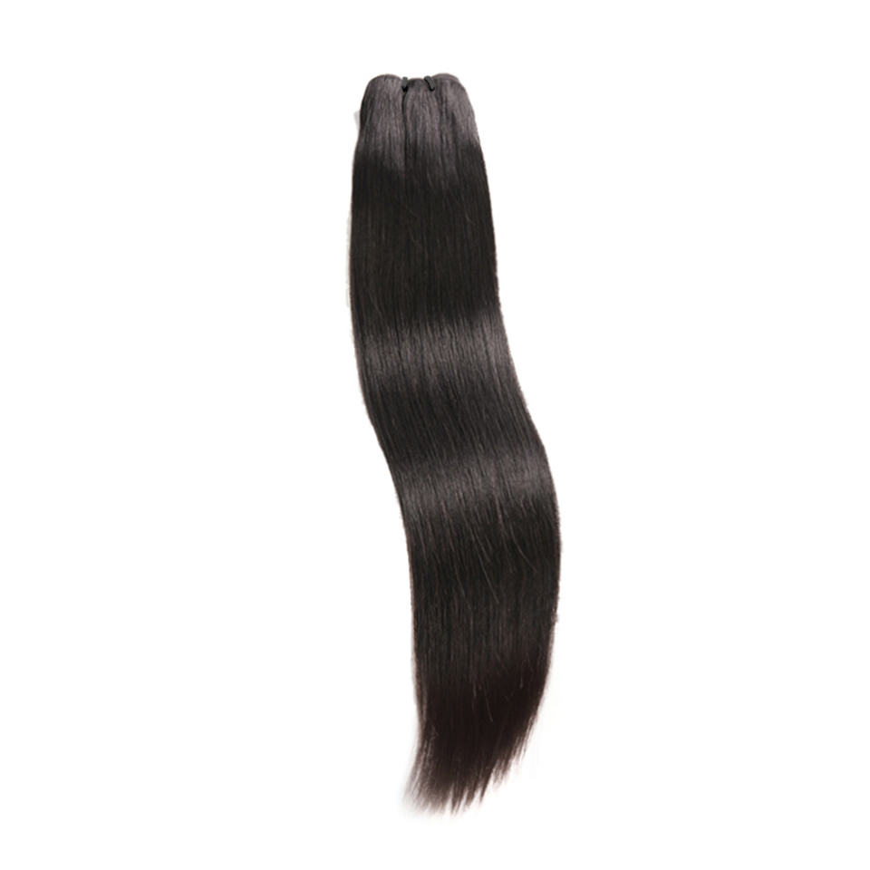 Raw Indian Hair Weave Bundles 100% Human Hair Natural Color Virgin Hair Extension 1/3PC 10A Straight Hair DJSbeauty