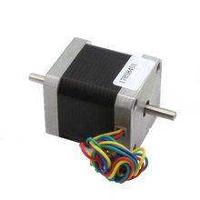 Nema17 Dual Shaft CNC Stepper motor 42x48 NEMA 17 stepper motor D=5mm 1.8A double shaft stepping motor 78 Oz-in 3D Print CNC
