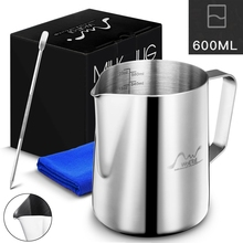 Stainless Steel Milk Frothing Pitcher Espresso Cof