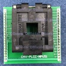 Dip40-Adapter TL866CS Programmers To for Tl866cs/Tl866ii-plus/Or/.. CNV-PLCC-MPU51 PLCC44
