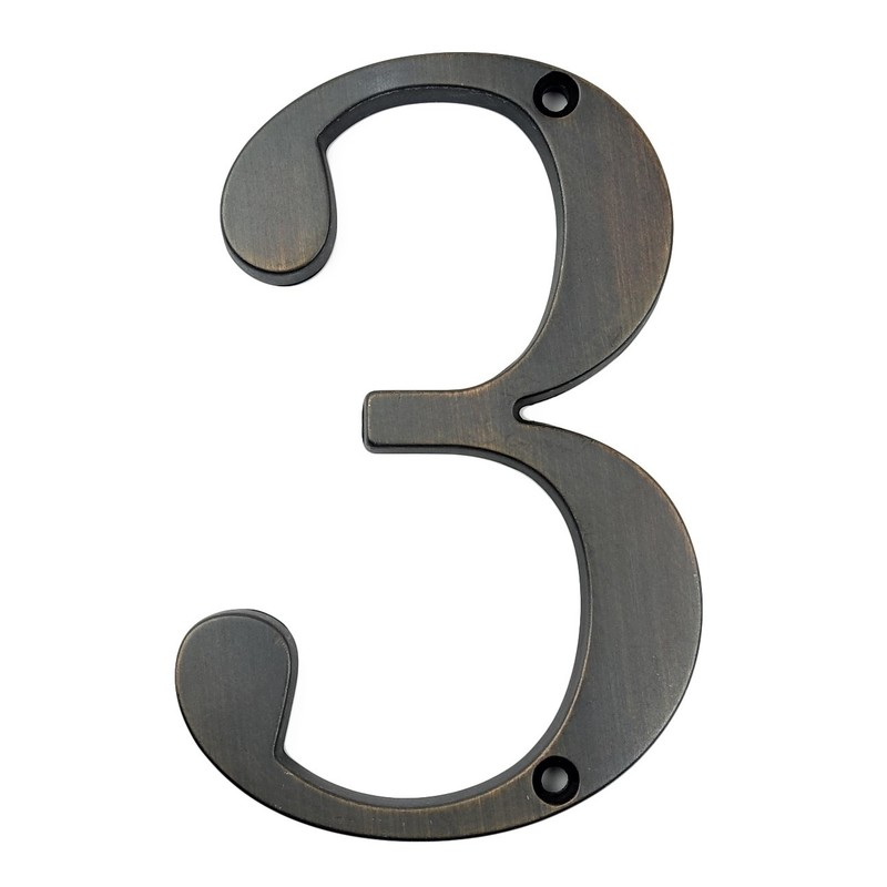 10cm Modern House Number Door Home