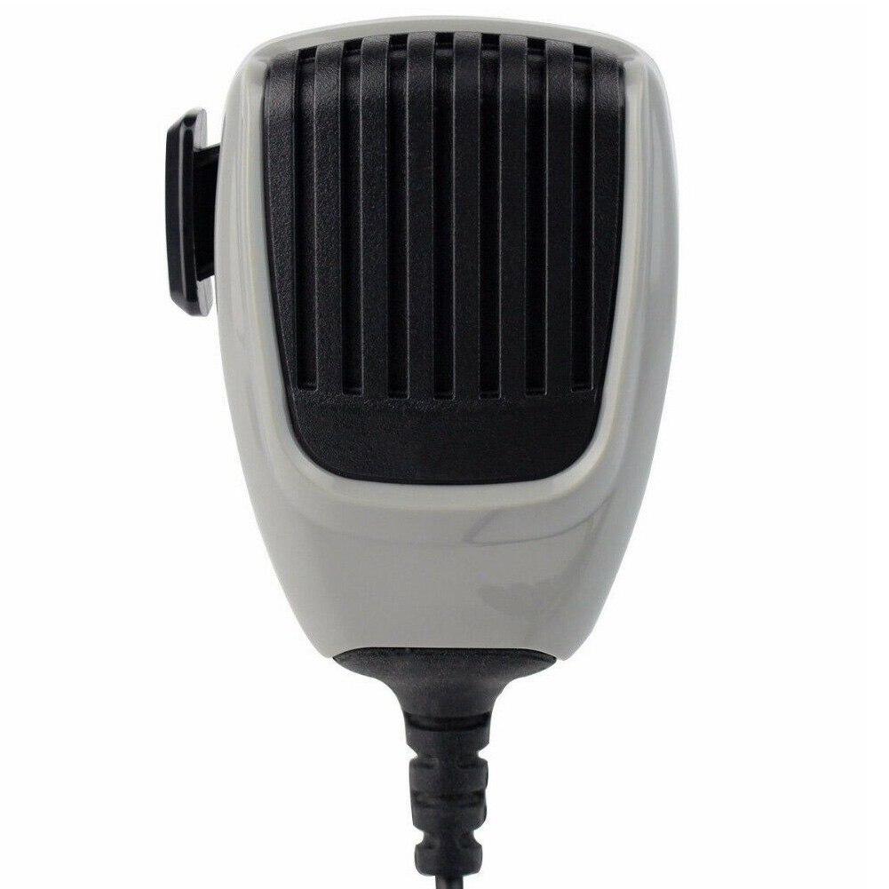 HM-148G Car Mounted Speaker Handheld Durable Ham Mic Self Grounding Communication Practical Mobile Radio ABS For ICom Series
