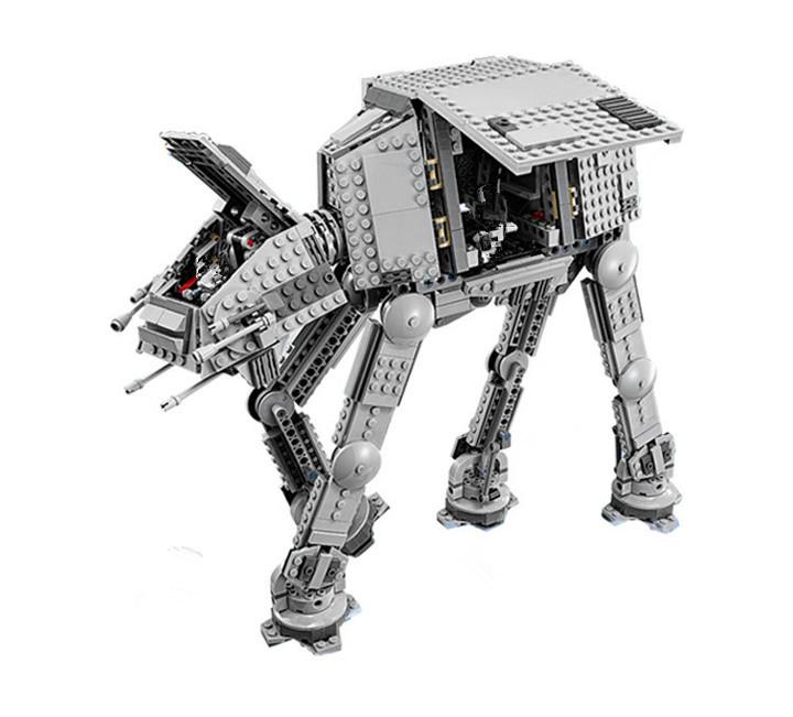 Series Force Awaken The AT-AT Transpotation Armored Robot  Building Blocks Bricks Educational Toys
