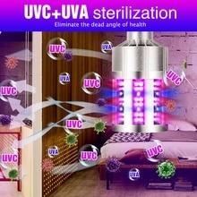 Led UVC 110V Germicidal Corn Light E27 Led UV Bactericidal Lampada 9 18 Leds Ultraviolet Sterilizer Lamp 280nm Home Disinfection