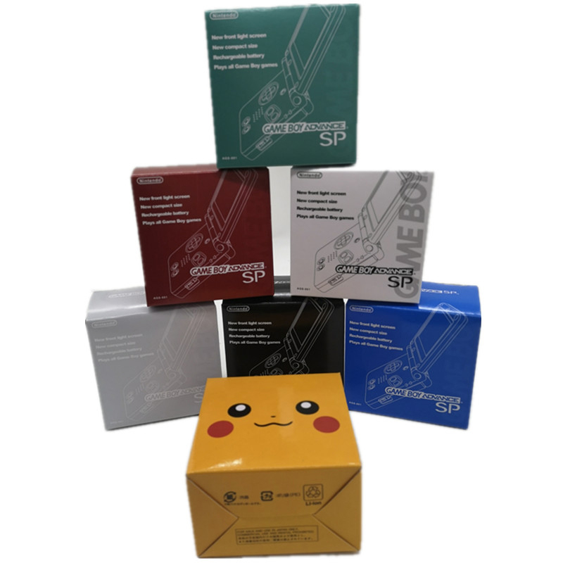 New Packing Boxes For Game Boy Advance SP For G-B-A SP Game Console Packing Carton