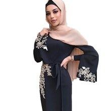 ดูไบมุสลิมสำหรับสตรีโมร็อกโกตุรกีบังคลาเทศโอมานอิสลามเสื้อผ้า Robe Hijab