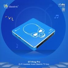 GT-King Pro TV BOX Android 9.0 4GB 64GB Amlogic S922X-H Quad Core Smart TV BOX Media Player 2.4G+5.8G Dual WIFI Set Top Box цена 2017