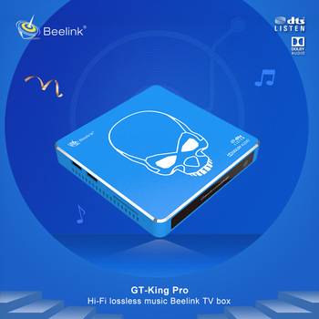 GT-King Pro TV BOX Android 9.0 4GB 64GB Amlogic S922X-H Quad Core Smart TV BOX Media Player 2.4G+5.8G Dual WIFI Set Top Box t95k pro android 7 1 kodi smart tv box amlogic s912 octa core 4k 2 3g 16 32g bt4 1 5g wifi media player set top box android tv