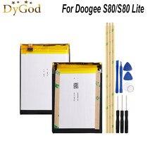 Batería de 10080mAh para Doogee S80, reemplazo de la batería del teléfono móvil, batería de respaldo para Doogee S80 Lite + herramientas