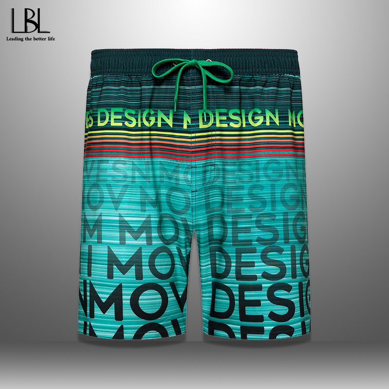 Swimming Beach Shorts Men Swimwear Quick Dry Swimsuit Swim Trunks Beachwear Bathing Surf Summer Running Short Bottoms Male 2020