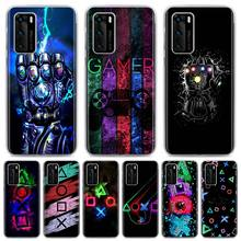 Hot Game Playstation Ps5 Luxe Telefoon Case Voor Huawei P Smart Z 2019 P30 Pro P40 Lite E P20 Lite hard Pc Cover Coque Fundas