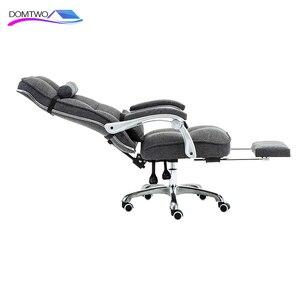 Image 2 - Cadeira de computador cadeira de escritório em casa cadeira de massagem giratória reclinável