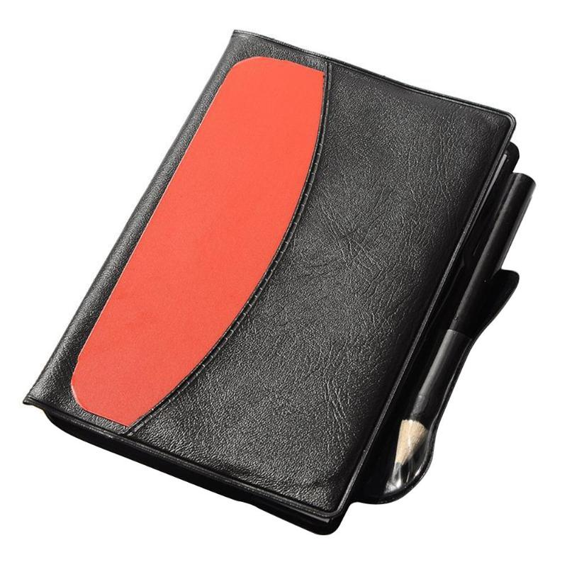 Sport Football Soccer Large Size Referee Red Yellow Card Sport Match Soccer Sheet Set Note Notebook