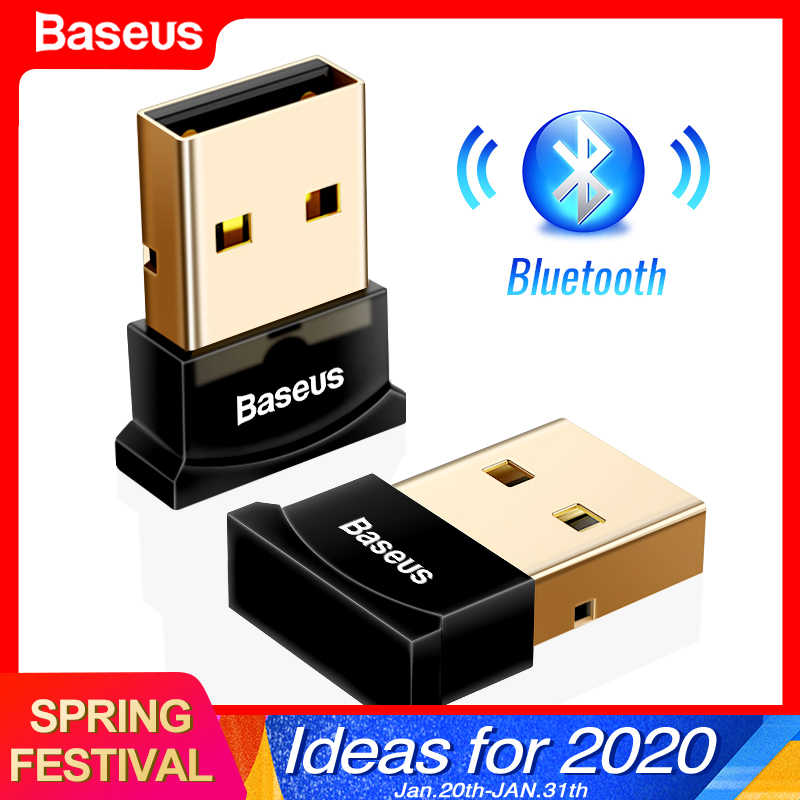 Baseus Usb Bluetooth Adapter Dongle Voor Computer Pc PS4 Muis Aux Audio Bluetooth 4.0 4.2 5.0 Luidspreker Muziek Ontvanger Zender