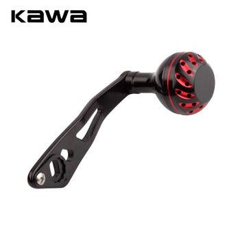 цена на Kawa Fishing Reel Handle Fishing Rocker Single Alloy Reel Handle Length 90mm Hole Size 8*5mm Suit for Abu and Daiwa Reel