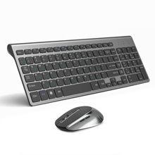 JOYACCESS rus kablosuz klavye fare seti ergonomik fare PC fare sessiz düğme klavye ve fare Combo 2.4G dizüstü bilgisayar için PC