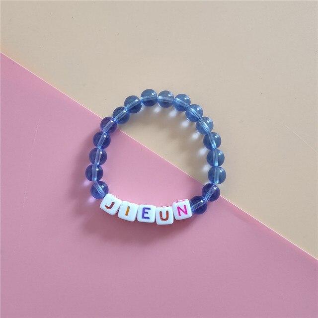 IU Li Zhien bracelet nouvel album amour poème le même rose bracelet concert périphérique bracelet Blueming