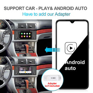 Image 5 - Isudar PX6 Android 10 Hexa Core 1 Din Auto Radio Für BMW 5 Series E39 CANBUS Auto Multimedia Video DVD player GPS Navigation DSP