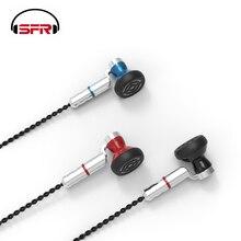 SENFER KP120 dans loreille écouteur HIFI Earburd protéine diaphragme pilote dynamique avec MMCX câble détachable métal écouteur PT15 KP110