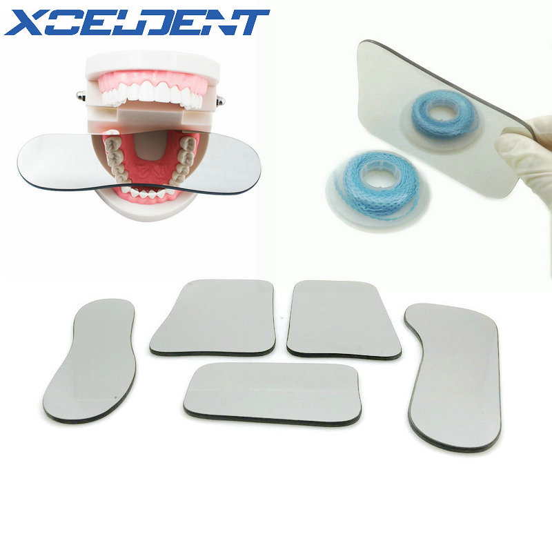 1pcs Dental Orthodontic Dental Photography Double-Sided Mirrors Dental Tools Glass Material Dentistry