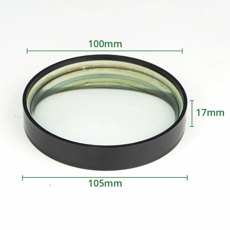 Optická skleněná ohnisková vzdálenost 2ks 100 mm Ohnisková - Měřicí přístroje - Fotografie 2