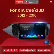 Junsun 2G + 32G Android 9.0 Für KIA Cee solltest CEED JD 2012 2013 2014-2016 Auto 2 din Auto Radio Stereo-Player Bluetooth GPS Navigation(China)