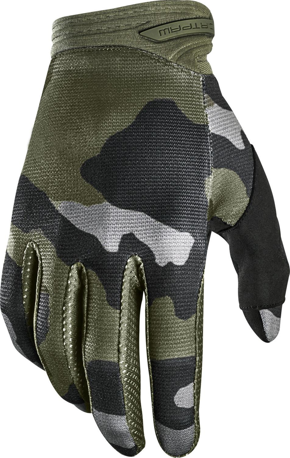 Delicate Fox Dirtpaw PRZM Camo MX Offroad Gloves MTB Bike Mountain Bicycle Racing Glove