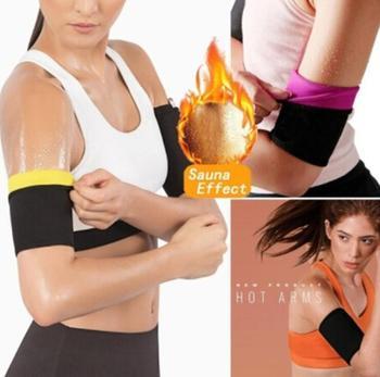 1 para kobiety Arm Shaper odchudzanie trymer Shapers Arm bielizna modelująca Adelgazar rękaw szczuplejsze Arm Pad produkt do utraty wagi tanie i dobre opinie DEDOMON CN (pochodzenie) Odchudzanie okłady A1209