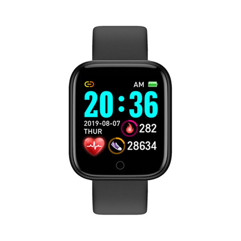Digital Smart sport watch Women watches digital led electronic wristwatch Bluetooth fitness wristwatch Men kids hours hodinky 6