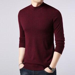 Image 4 - เสื้อกันหนาวผู้ชายCasualชายถักเสื้อSlimเสื้อกันหนาวTops 2020ร้อนยี่ห้อเสื้อผ้าPull Homme Sueteres Hombre Cafarena