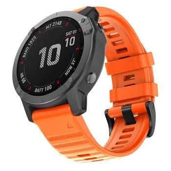 22MM QuickFit Watchband Strap For Garmin Forerunner 945 935 Easyfit Silicone Wrist Strap For Garmin Fenix 6 6 Pro Fenix 5 5Plus