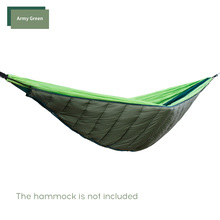 Hammock Sleeping-Bag Under Quilt Ultralight Outdoor Blanket Thermal-Top-Cover Winter