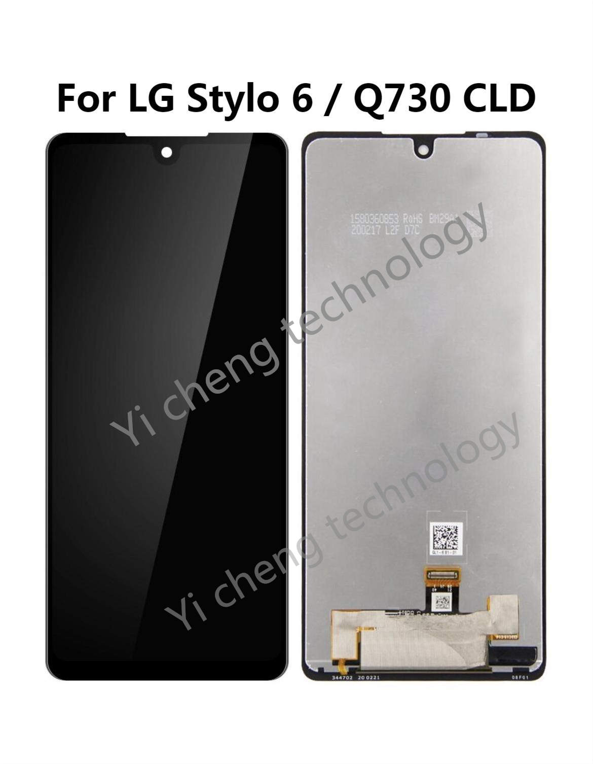 For LG Stylo 6 Q730 LCD Display Touch Screen Digitizer Assembly For LG LM-Q730TM lcd Replacement Accessory For LG Stylo6 lcd