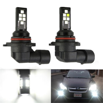 цена на 2Pcs Fog Lamp H8 H11 Car Driving Running Led Light 35W 4000LM 6000K White Auto Led Headlight Bulbs High Low Beam 12V 24V