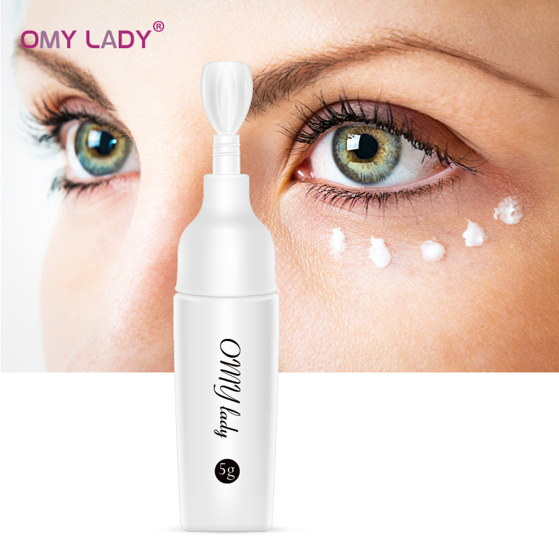 OMY LADY Collagen Anti Puffiness Eye Cream Hyaluronic Acid Firming Moisturizing Eye Skin Dark Circles Anti Wrinkle Anti Age Care
