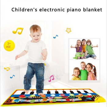 Children'S Multifunctional Music Game Carpet Baby Environmental Protection Animal Finger Touch Type Electronic Piano